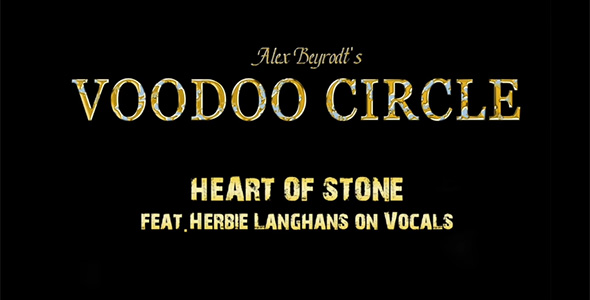 VOODOO CIRCLE NEW SONG FEAT. HERBIE LANGHANS
